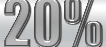 20 Percent Down Regulation