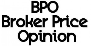 Broker price opinion short sale