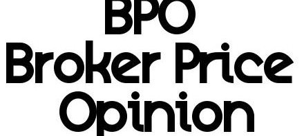 Broker Price Opinion