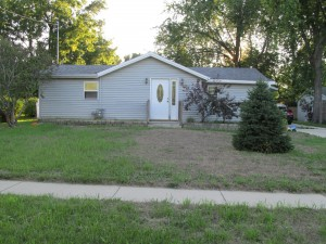 4-Car Garage with this 3 bedroom Stoughton WI Short Sale