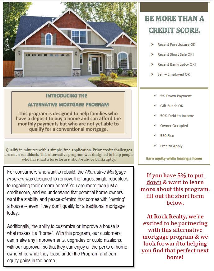Alternative Mortgage Program