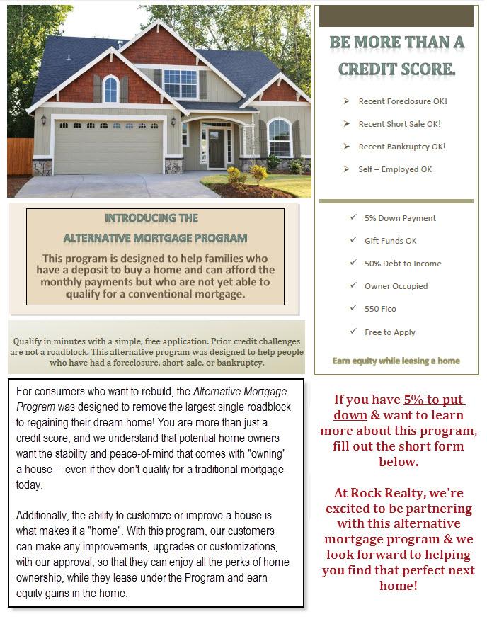 Alternative Mortgage Program