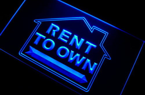 Rent to Own Estate Agent Neon Light Sign